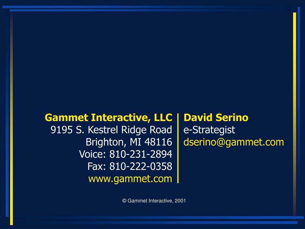 Gammet Interactive, LLC