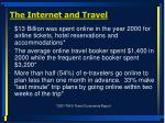 the internet and travel