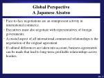 global perspective a japanese aisatsu