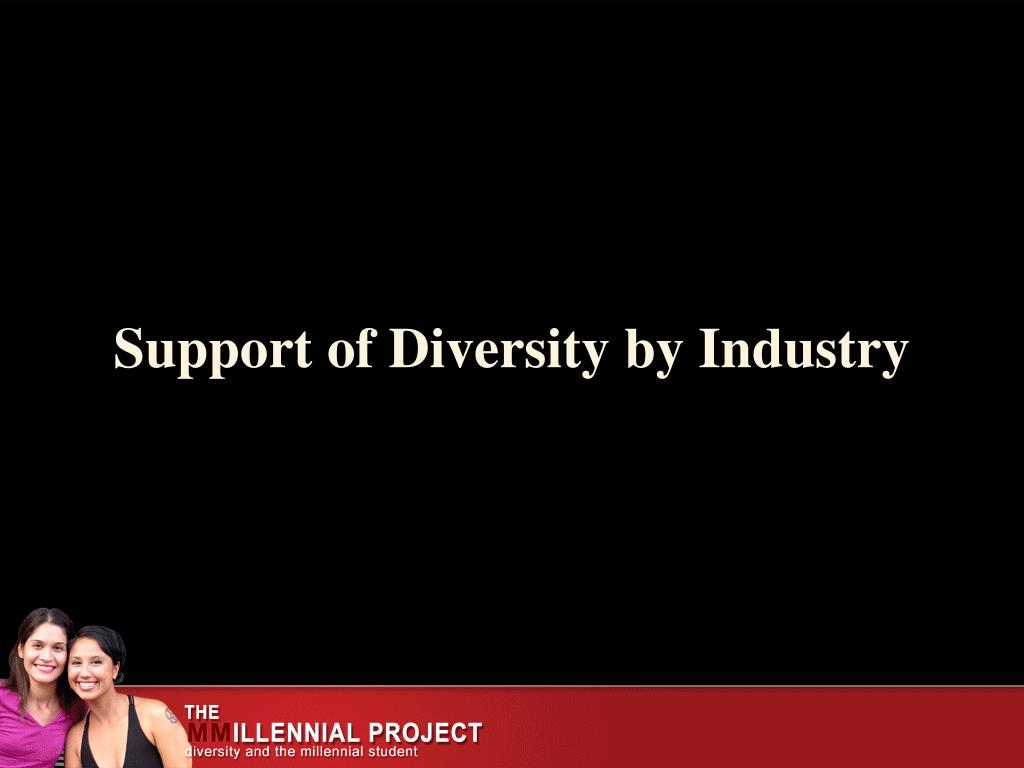 Support of Diversity by Industry