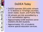 dodea today