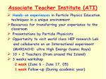 associate teacher institute ati