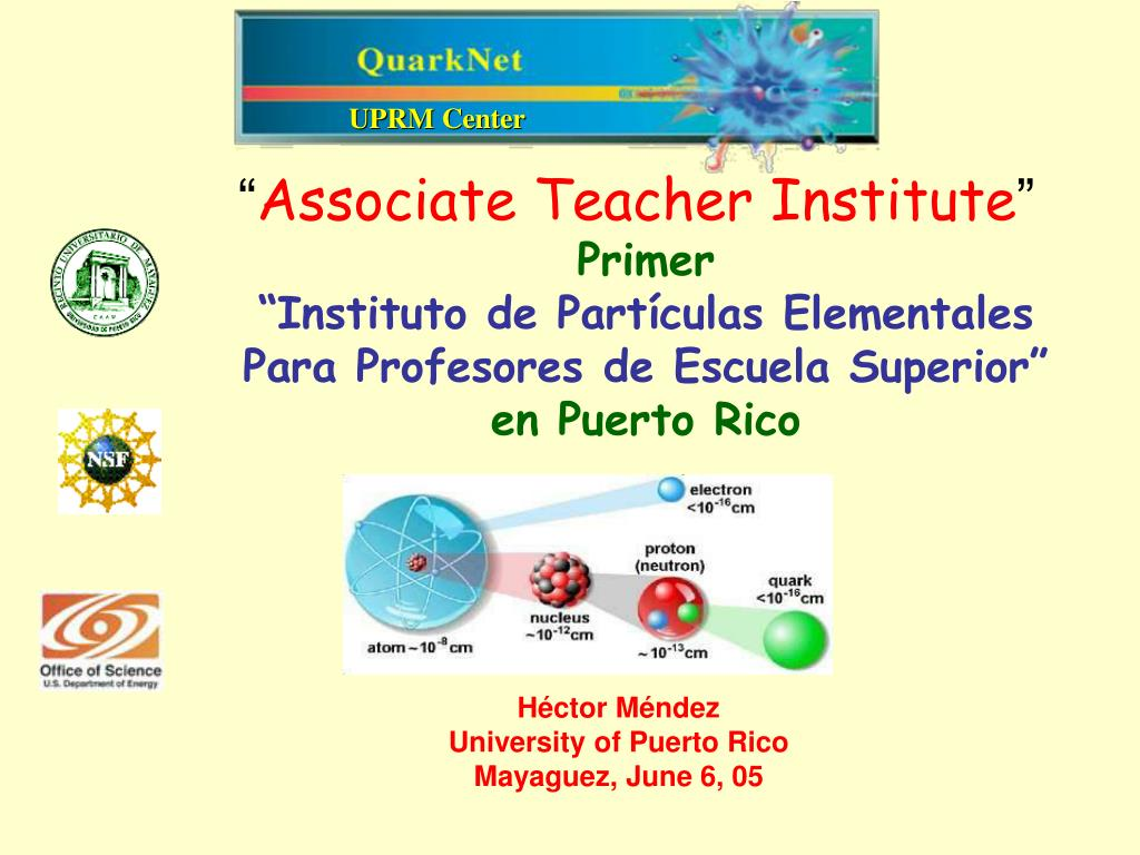 associate teacher institute l.
