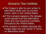 scenario two unlikely