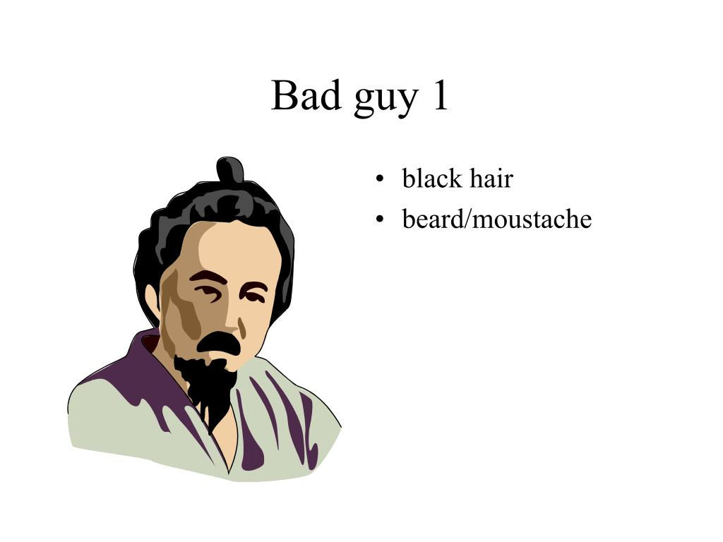 Bad guy 1