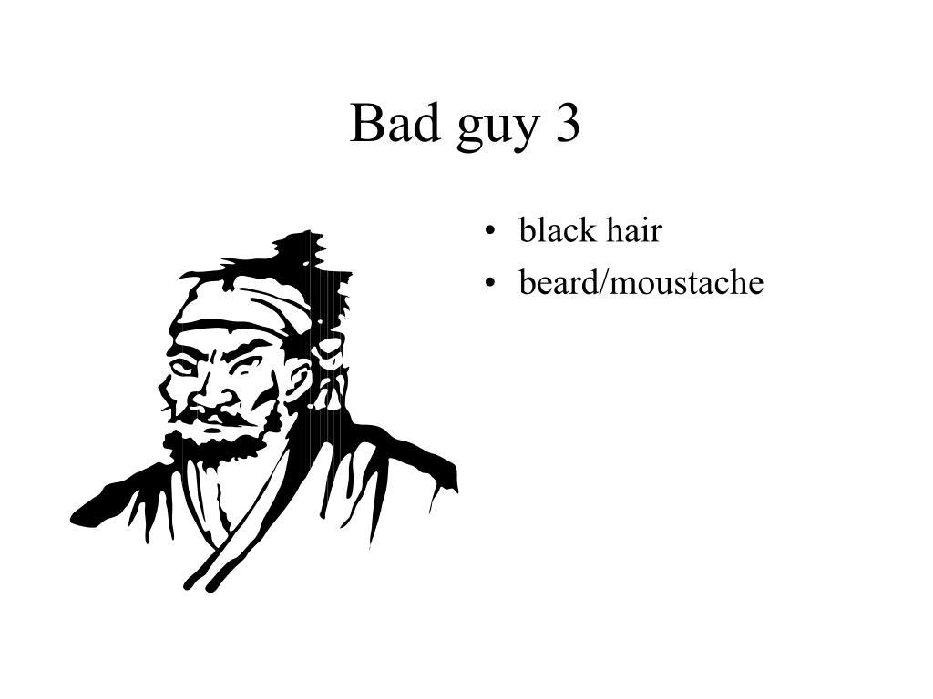 Bad guy 3
