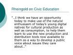 rheingold on civic education