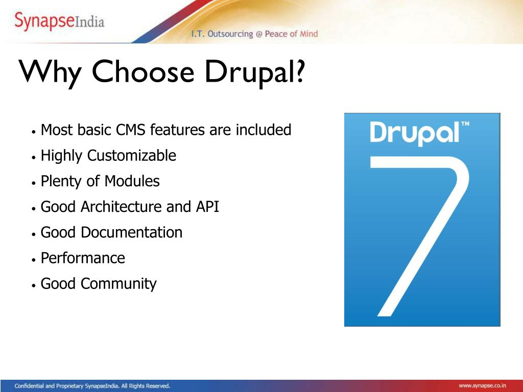 Why Choose Drupal?