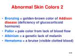 abnormal skin colors 2