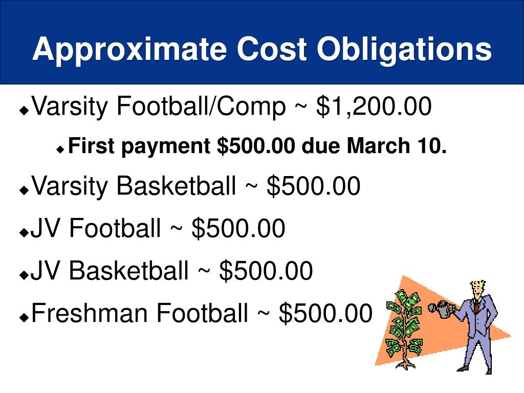 Approximate Cost Obligations
