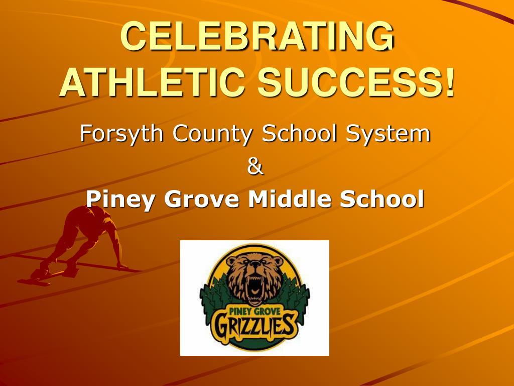 celebrating athletic success l.
