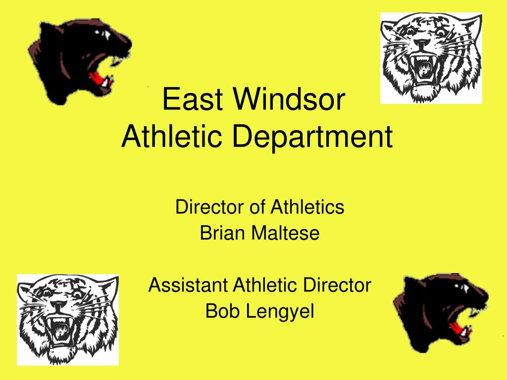 east windsor athletic department l.