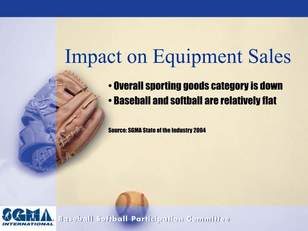 Impact on Equipment