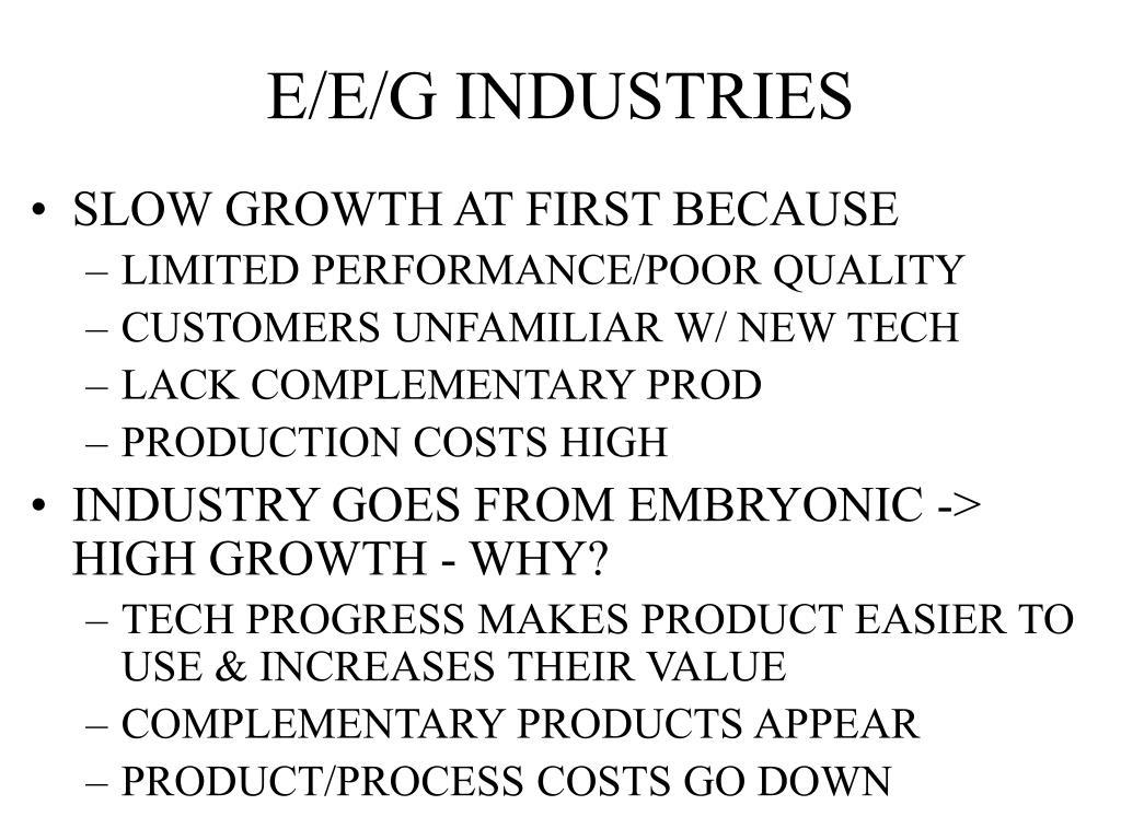 E/E/G INDUSTRIES