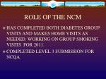 role of the ncm2