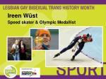ireen w st speed skater olympic medallist