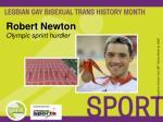 robert newton olympic sprint hurdler