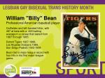 william billy bean professional american baseball player