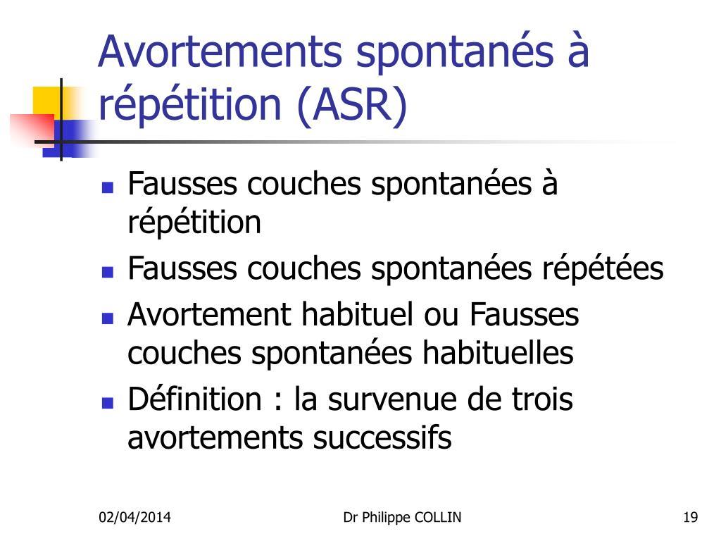 Ppt avortement spontan powerpoint presentation id 720739 - Fausse couche avec sterilet ...