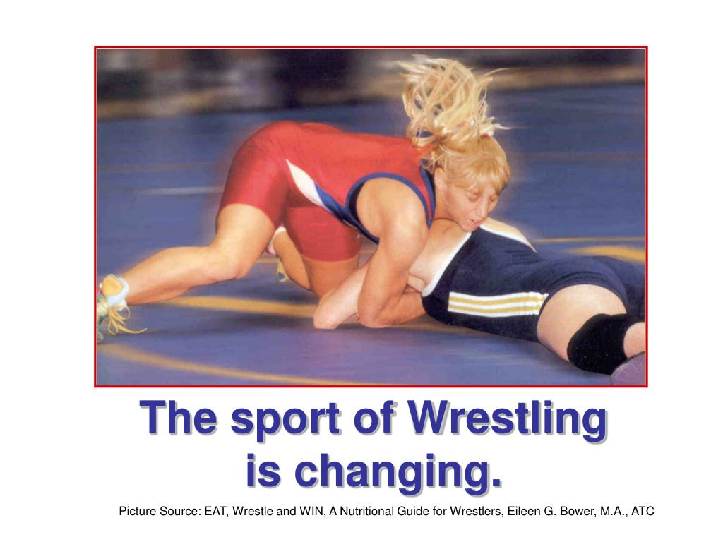 The sport of Wrestling is changing.