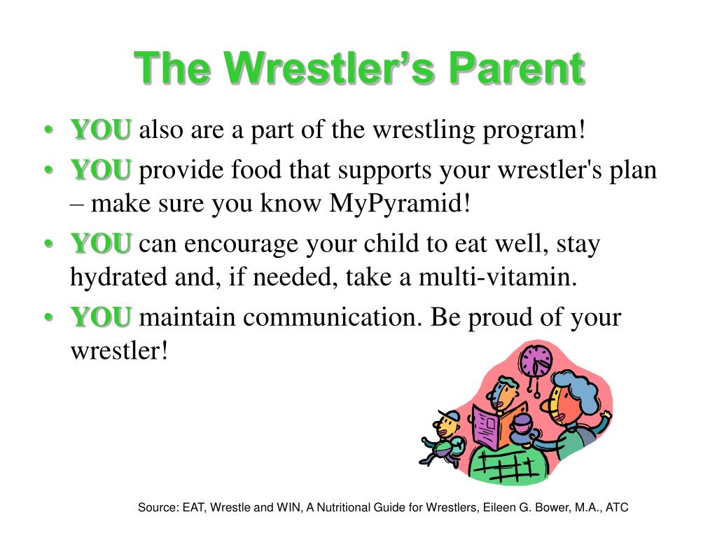 The Wrestler's Parent