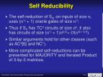 self reducibility6