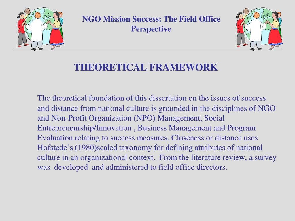 NGO Mission Success: The Field Office Perspective