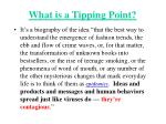 what is a tipping point