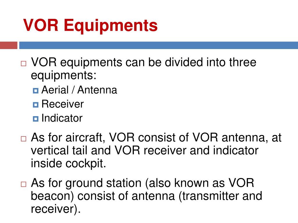 PPT - Radio Aids & Navigational Systems – RAN 2204