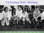 cs freiburg team germany