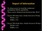 impact of information16