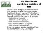 nh residents gambling outside of nh