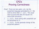 cfg s proving correctness1
