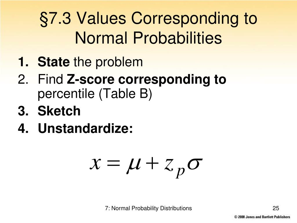 PPT - Chapter 7: Normal Probability Distributions PowerPoint