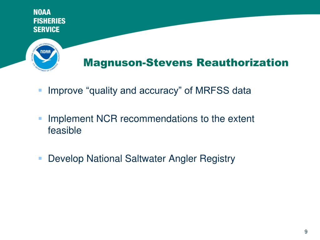 Magnuson-Stevens Reauthorization