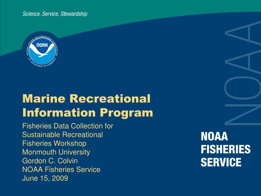 Marine Recreational Information Program