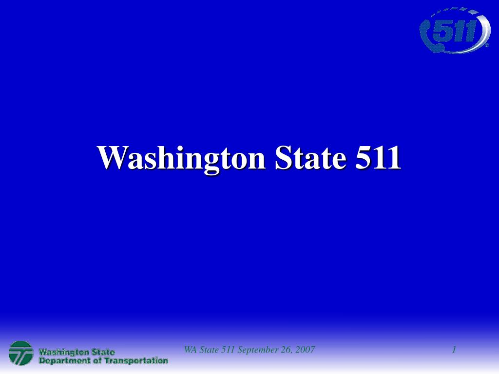 washington state 511 l.