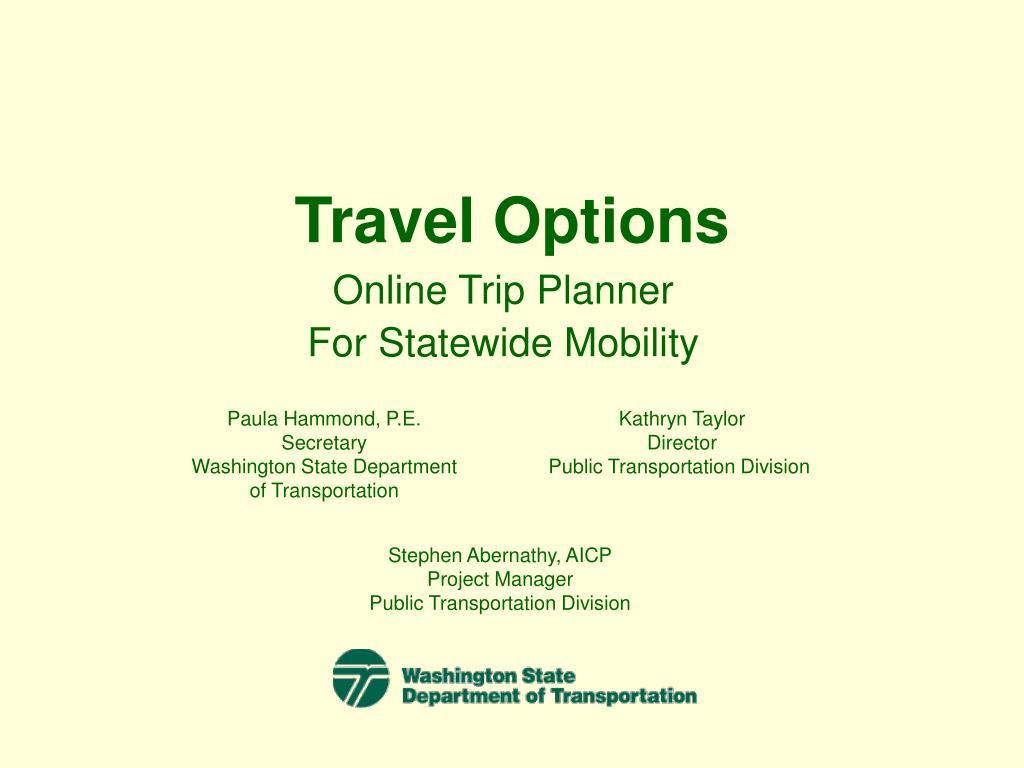 travel options l.