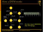 how a dtm works1