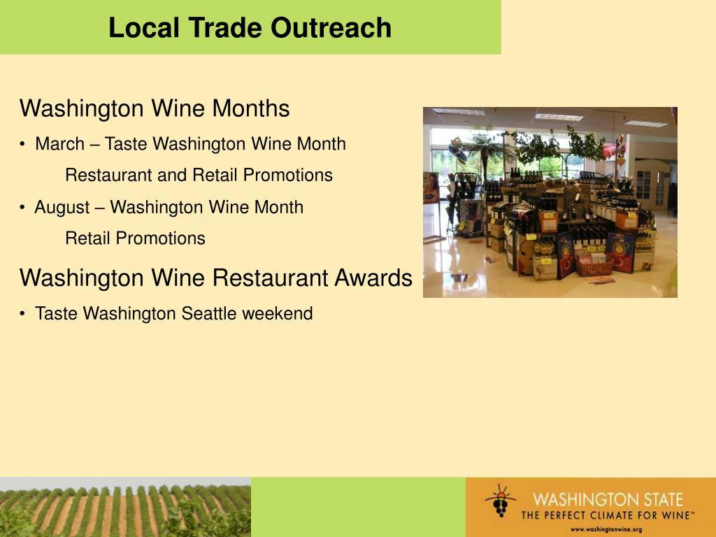 Local Trade Outreach