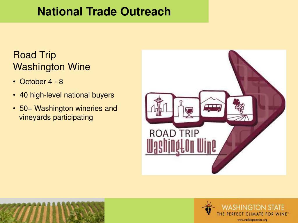 National Trade Outreach