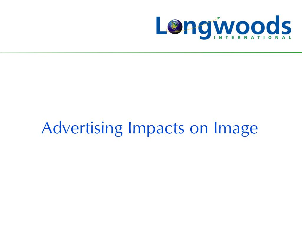 Advertising Impacts on Image
