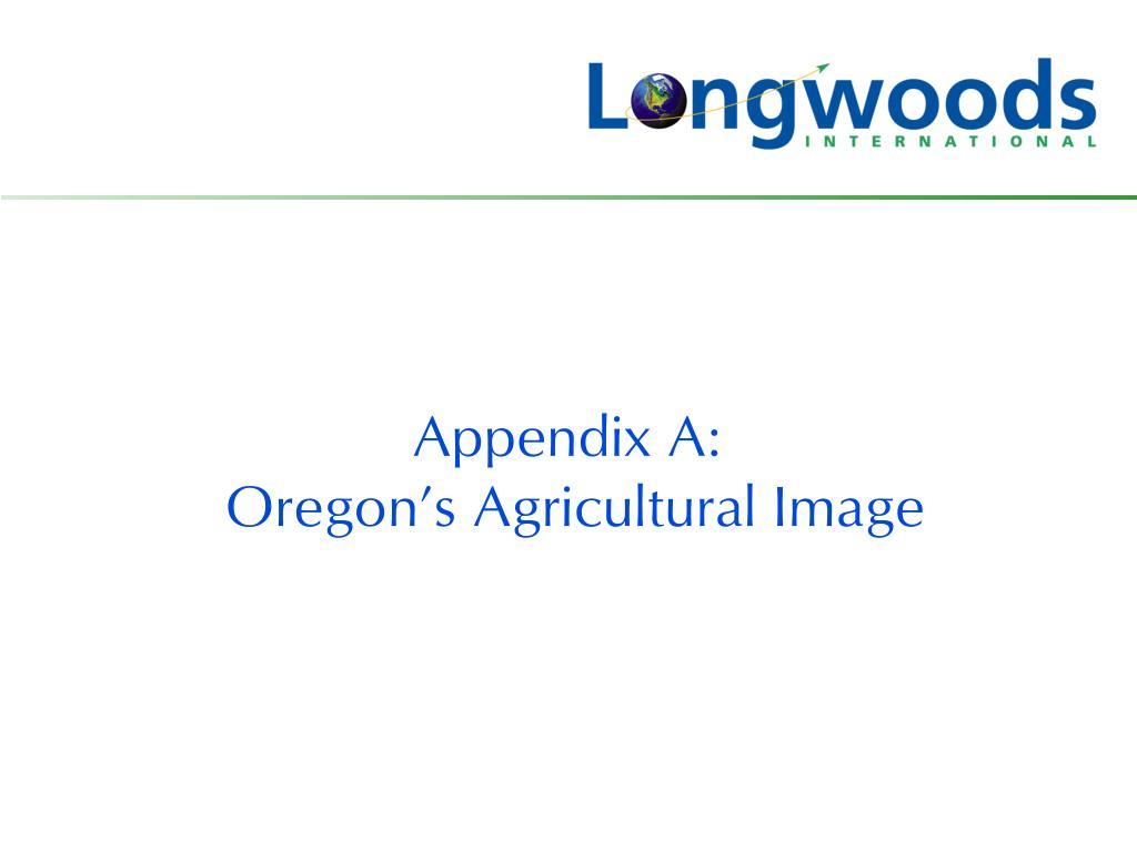 Appendix A:
