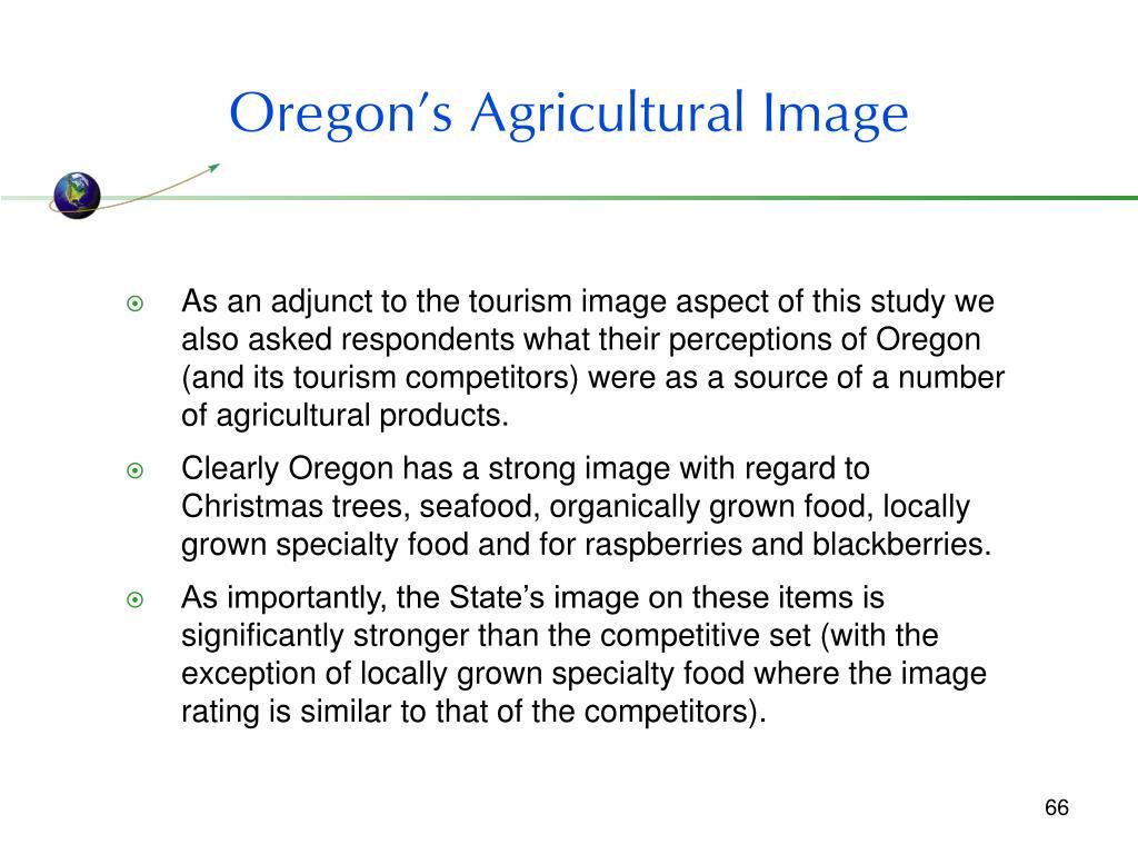 Oregon's Agricultural Image
