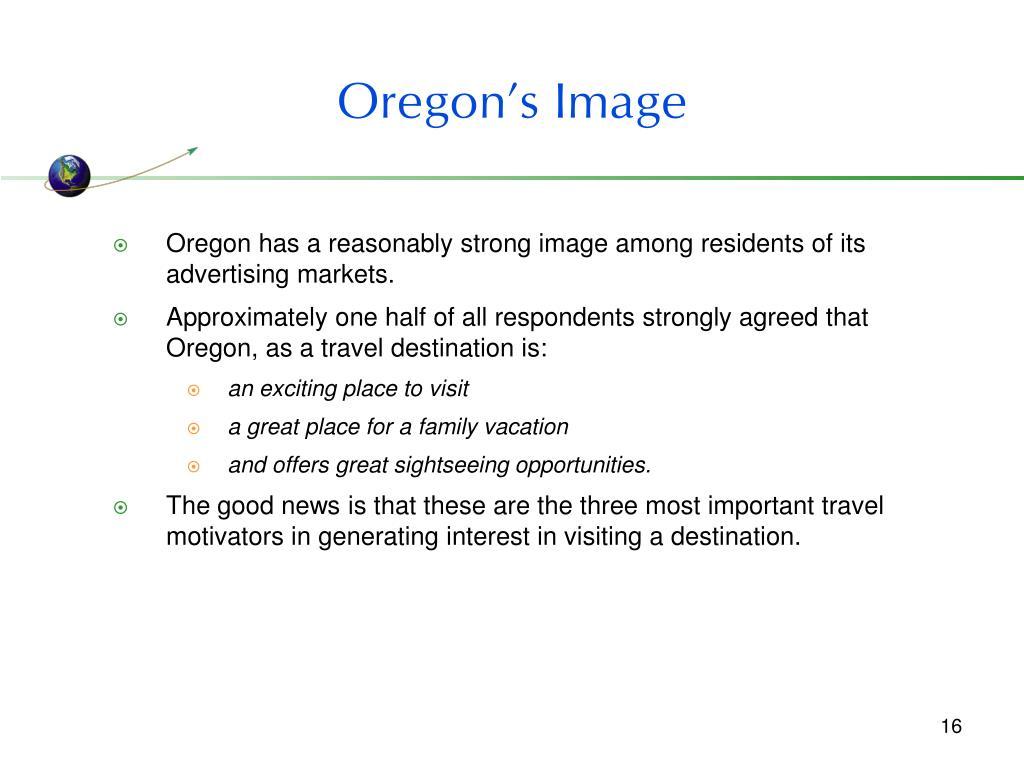 Oregon's Image