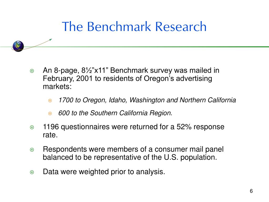 The Benchmark Research