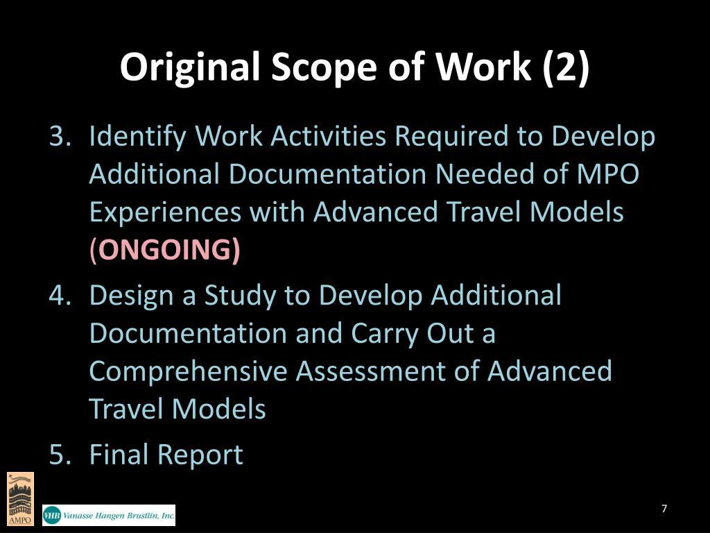 Original Scope of Work (2)