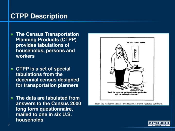 Ctpp description