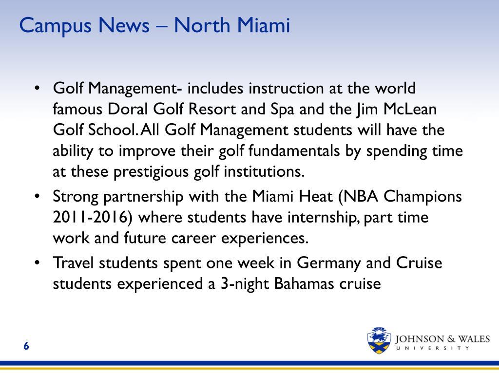 Campus News – North Miami