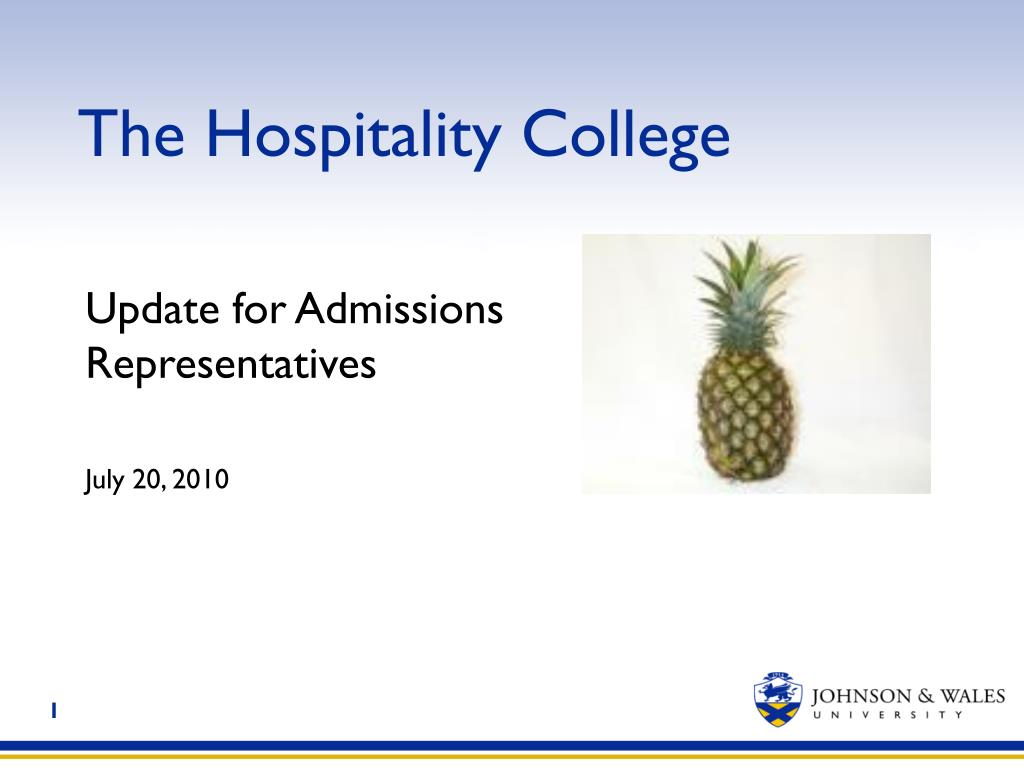 the hospitality college l.